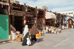 阿斯旺东方市场在埃及 免版税库存图片