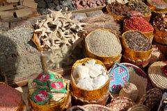 阿斯旺东方市场在埃及 免版税库存照片