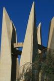 阿斯旺水坝雕塑 免版税库存照片