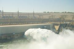 阿斯旺水坝-埃及 免版税库存照片