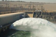 阿斯旺水坝-阿斯旺-埃及 图库摄影