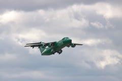 阿斯特拉航空公司BAe 146 Avro RJ 免版税图库摄影