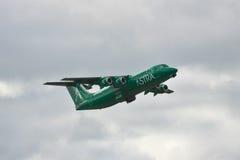 阿斯特拉航空公司BAe 146 Avro RJ 库存照片