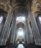 阿斯蒂大教堂,内部 免版税库存照片