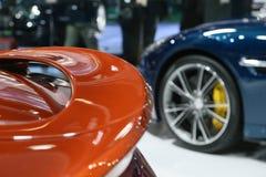 阿斯顿・马丁V12Vanquish Volante Cabrio 免版税库存照片