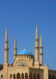阿明・贝鲁特el黎巴嫩清真寺 免版税库存图片