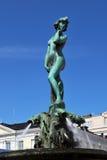阿曼达喷泉havis赫尔辛基 免版税库存照片