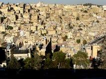 阿曼,约旦俯视图  库存图片