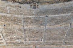 阿曼,约旦罗马剧院  免版税库存照片