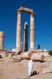 阿曼,约旦,中东 免版税库存图片