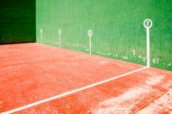阿来现场fronton jai普遍的西班牙体育运动 库存照片