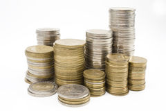 阿根廷人硬币 免版税库存图片