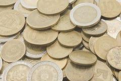阿根廷人硬币 免版税库存照片