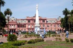 阿根廷住处rosada 库存照片