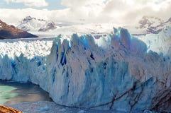 阿根廷冰川莫尔诺巴塔哥尼亚perito 图库摄影