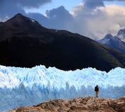 阿根廷冰川莫尔诺perito 免版税图库摄影