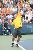 阿根廷大卫nalbandian球员网球 免版税库存图片