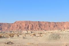 阿根廷峭壁胡安月亮圣谷 库存图片