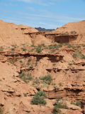 阿根廷形成地质岩石 免版税库存图片