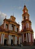 阿根廷教会salta 免版税图库摄影