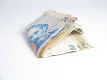 阿根廷查出货币 免版税库存照片