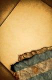 阿根廷标志老纸张 库存照片