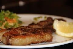 阿根廷烤肉用沙拉 免版税库存照片
