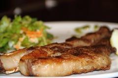 阿根廷烤肉用沙拉 库存照片