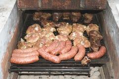 阿根廷烤肉 图库摄影
