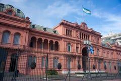 阿根廷的总统宫殿 图库摄影