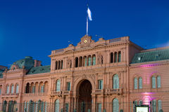 阿根廷的总统府 库存图片