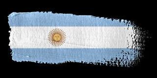 阿根廷绘画的技巧标志 皇族释放例证