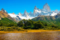 阿根廷美好的横向本质巴塔哥尼亚 库存图片