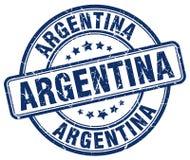 阿根廷邮票 向量例证