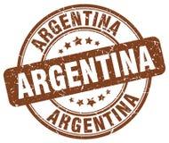 阿根廷邮票 皇族释放例证