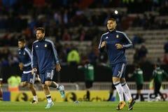 阿根廷-智利- Copa美国2016年 免版税库存照片