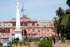 阿根廷de mayo广场 免版税库存照片