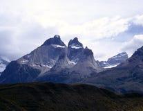 阿根廷del paine巴塔哥尼亚torres 免版税库存图片