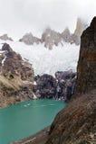 阿根廷fitz巴塔哥尼亚roy 库存图片