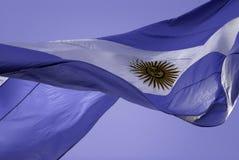 阿根廷flag2 库存照片