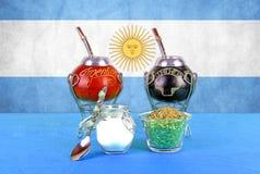 阿根廷yerba 免版税库存图片