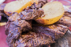 阿根廷人烤肉 库存照片