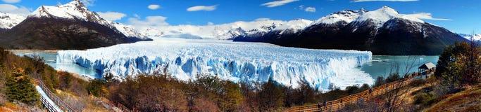 阿根廷冰川莫尔诺perito 免版税库存照片