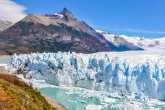 阿根廷冰川莫尔诺perito 库存图片