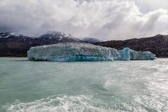 阿根廷湖冰块 免版税库存图片