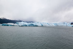 阿根廷湖Upsala冰川 库存图片