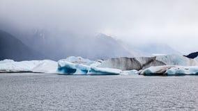 阿根廷湖Upsala冰川 免版税图库摄影