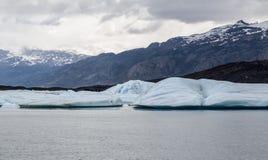 阿根廷湖Upsala冰川 免版税库存图片