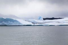 阿根廷湖Upsala冰川 库存照片