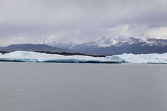 阿根廷湖Upsala冰川 免版税库存照片